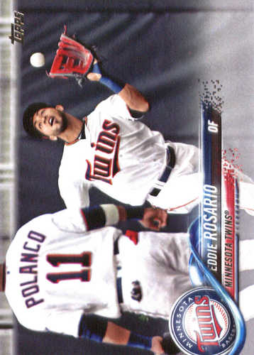 Photo of 2018 Topps #334 Eddie Rosario