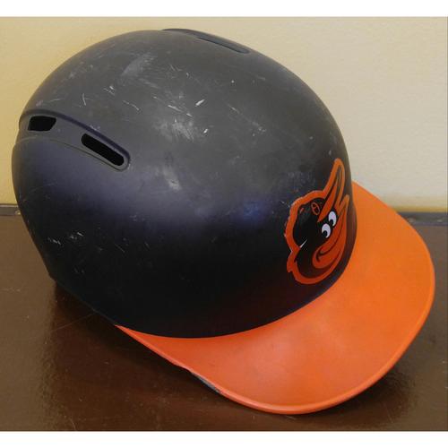 Photo of Caleb Joseph - Road Batting Helmet: Team-Issued