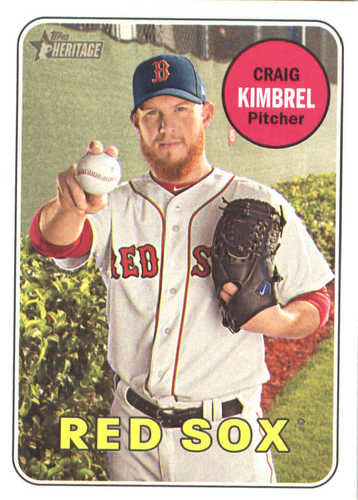 Photo of 2018 Topps Heritage #28 Craig Kimbrel