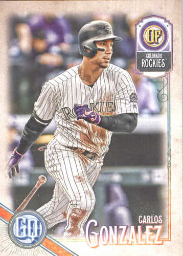 Photo of 2018 Topps Gypsy Queen #137 Carlos Gonzalez