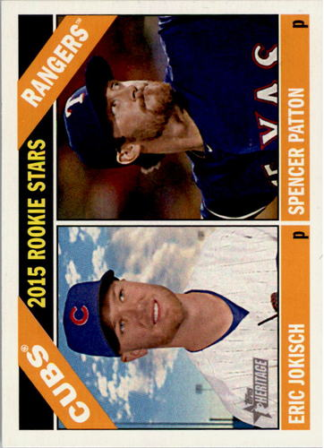 Photo of 2015 Topps Heritage #233 Spencer Patton RC/Eric Jokisch RC