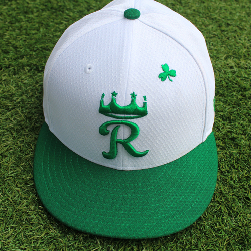 Photo of Team-Issued St. Patrick's Day Cap: Danny Duffy (Size 7 3/4)