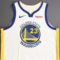 Draymond Green - Golden State Warriors - 2019 NBA Finals - Game 3 - Game-Worn White Association Edition Jersey