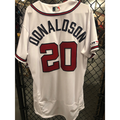 Photo of Josh Donaldson 2019 Game Used Jersey Worn for FOUR Home Runs