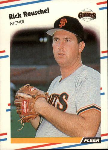 Photo of 1988 Fleer #94 Rick Reuschel