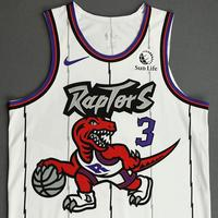 OG Anunoby - Toronto Raptors - Game-Worn Classic Edition 1995-96 Home Jersey - 2019-20 Season