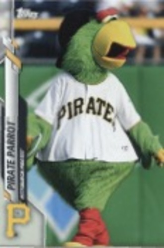 Photo of 2020 Topps Opening Day Mascots #M13 Pirate Parrot