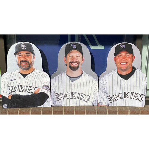 Photo of Colorado Rockies Foundation: NL Silver Slugger Set- Vinny Castilla, Todd Helton, and Matt Holliday