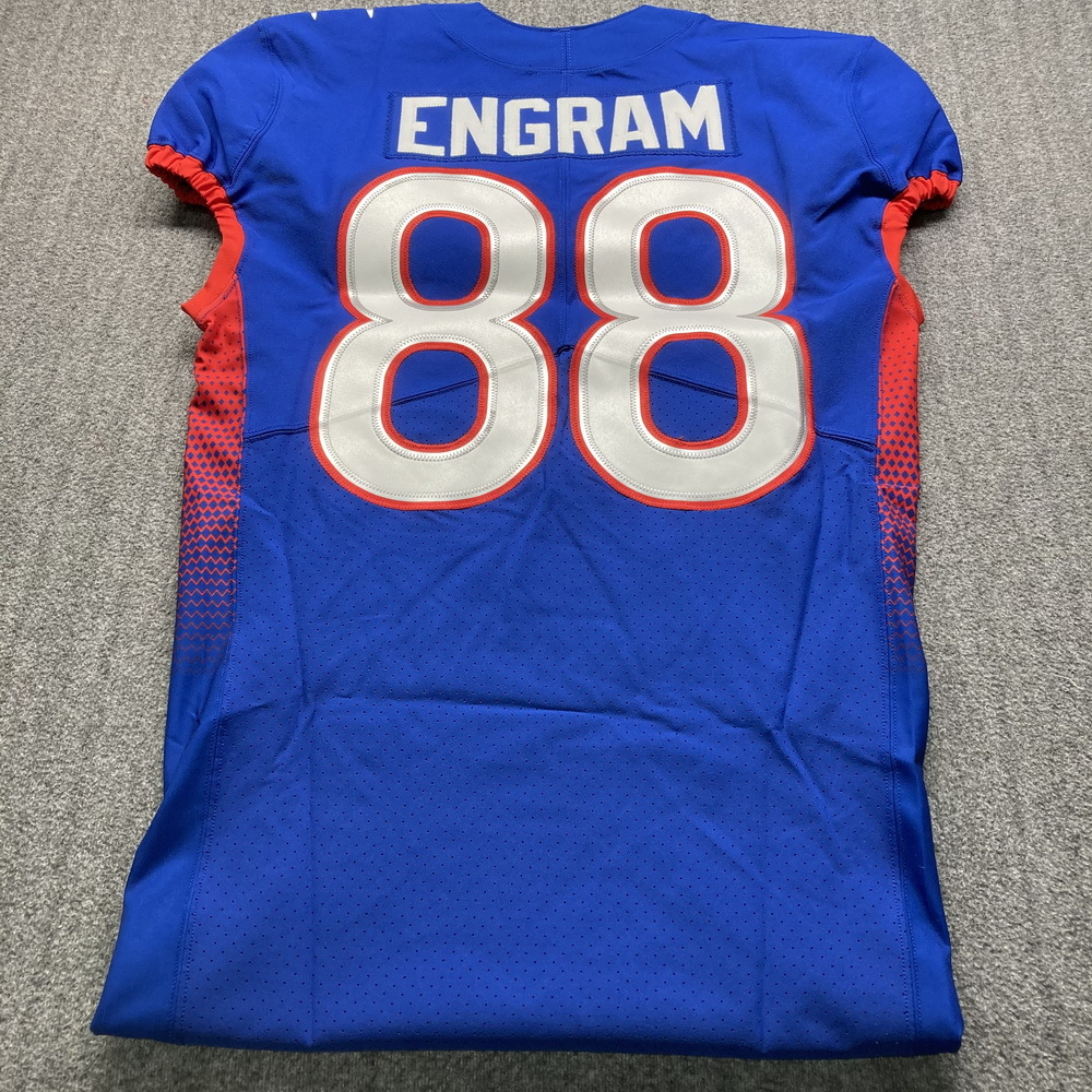 NFL - Giants Evan Engram Special Issued 2021 Pro Bowl Jersey Size 42