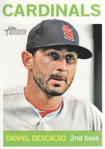 Photo of 2013 Topps Heritage #134 Daniel Descalso