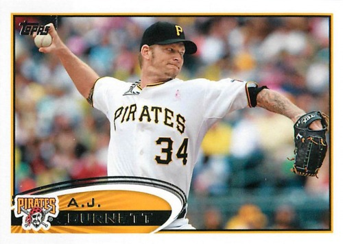 Photo of 2012 Topps Update #US49 A.J. Burnett