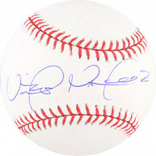 Photo of Victor Martinez Autographed Baseball
