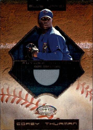 Photo of 2002 Hot Prospects #82 Corey Thurman FS Pants RC