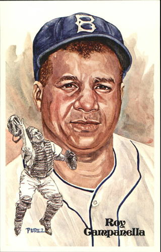Photo of 1980-02 Perez-Steele Hall of Fame Postcards #111 Roy Campanella -- HOF Class of 1969