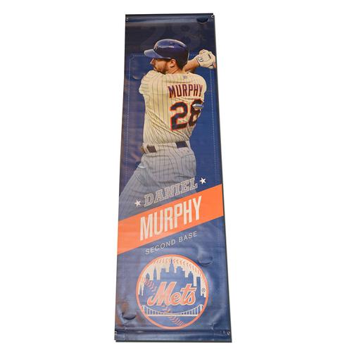 Daniel Murphy #28 - Citi Field Banner - 2015 Season
