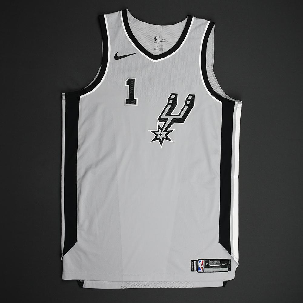 Kyle Anderson - San Antonio Spurs - Statement Game-Worn Jersey - 2017-18 Season