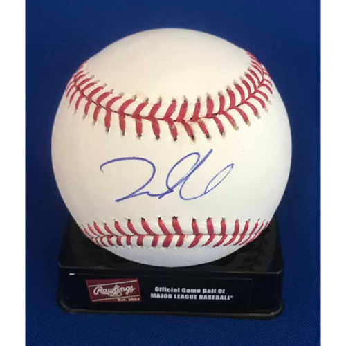 Photo of UMPS CARE AUCTION: Dustin Pedroia Signed Baseball