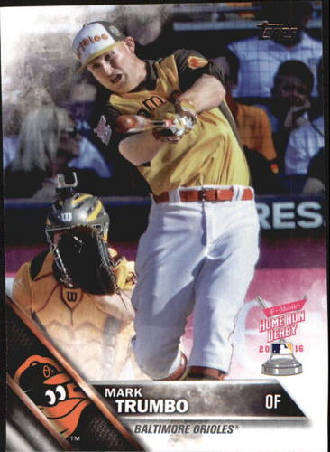 Photo of 2016 Topps Update #US118 Mark Trumbo HRD