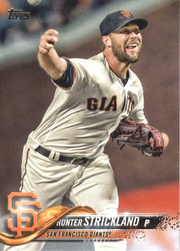 Photo of 2018 Topps #684 Hunter Strickland