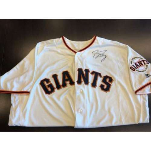 Photo of Giants End of Season Auction: Buster Posey Autographed Jersey