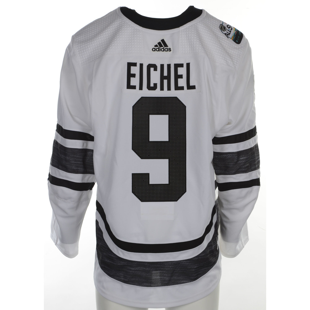 new product e4b52 c2305 Jack Eichel Buffalo Sabres Player-Issued 2019 All-Star Game ...