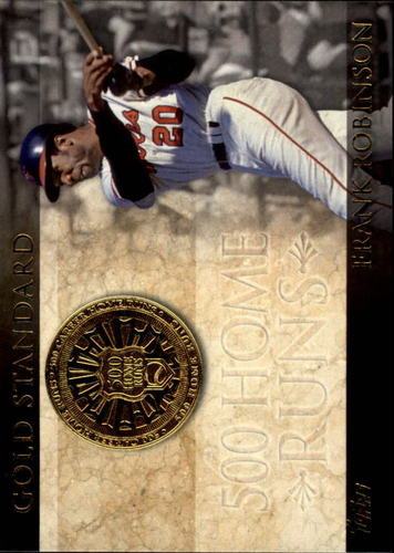 Photo of 2012 Topps Gold Standard #GS7 Frank Robinson