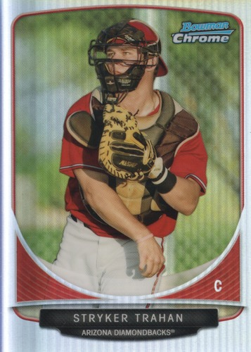 Photo of 2013 Bowman Chrome Cream of the Crop Mini Refractors #AD5 Stryker Trahan
