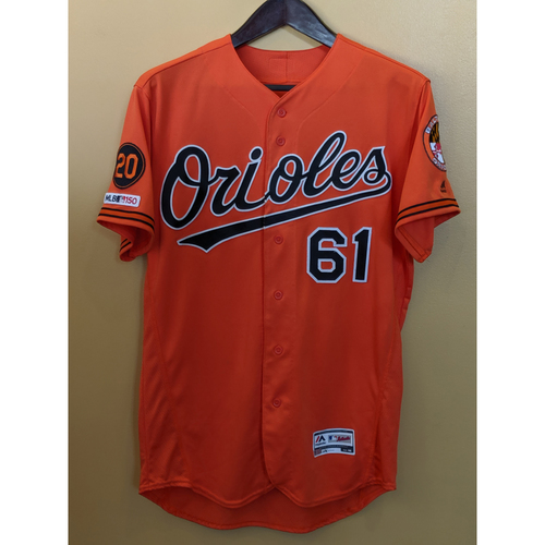 Photo of Austin Wynns - Orange Alternate Jersey: Game-Used