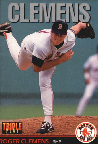 Photo of 1993 Triple Play #118 Roger Clemens