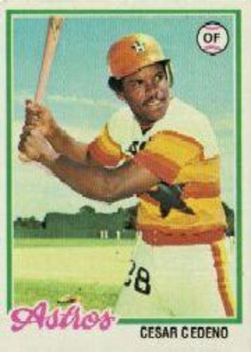 Photo of 1978 Topps #650 Cesar Cedeno