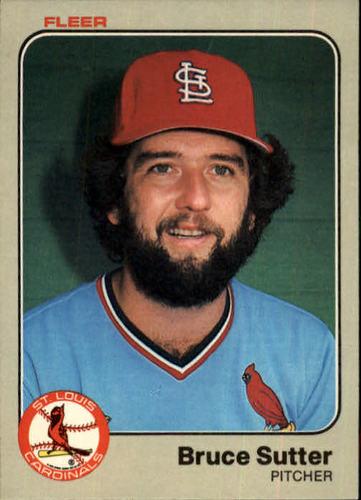 Photo of 1983 Fleer #24 Bruce Sutter