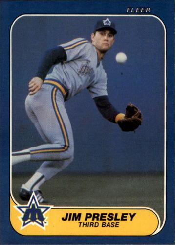 Photo of 1986 Fleer #473 Jim Presley