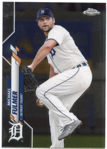 Photo of 2020 Topps Chrome #18 Michael Fulmer