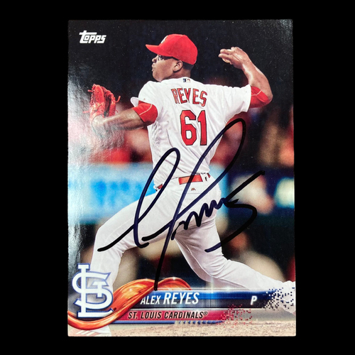 Alex Reyes Autographed Player Card