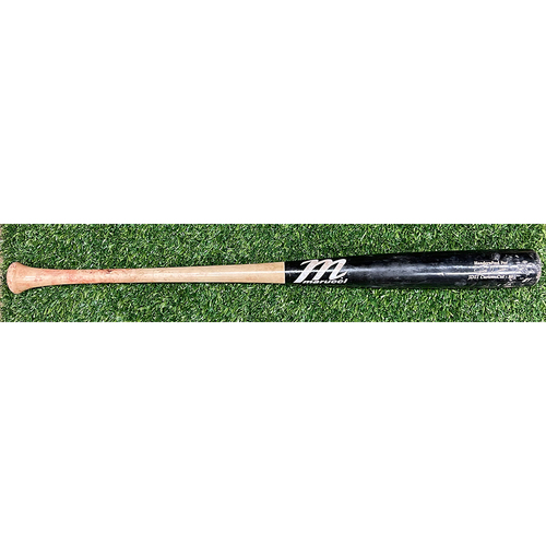Photo of Minnesota Twins: 2021 Game-Used Josh Donaldson Bat - P: Eric Lauer to Josh Donaldson Home Run (20) on a Line Drive to Left Field, Rob Refsnyder Scores - August 27th, 2021 vs. MIL