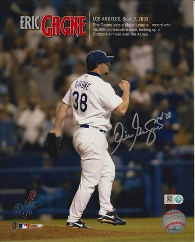 Photo of Eric Gagne Autographed 8x10