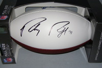 LIONS - RILEY REIFF SIGNED PANEL BALL W/ LIONS LOGO
