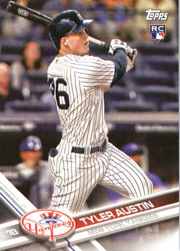 Photo of 2017 Yankees Topps #NYY12 Tyler Austin