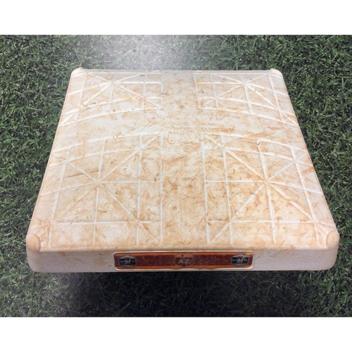 Game-Used 2017 Spring Training 1st Base - Aguilar Team-Leading 7th HR; Shaw 4th HR (03/29/17)