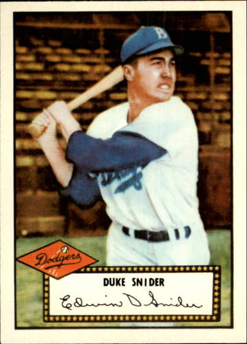 Photo of 1983 Topps 1952 Reprint #37 Duke Snider