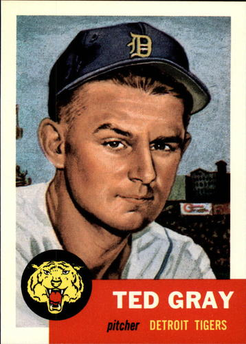Photo of 1991 Topps Archives 1953 #52 Ted Gray