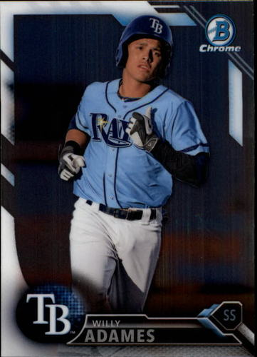 Photo of 2016 Bowman Chrome Draft #BDC156 Willy Adames