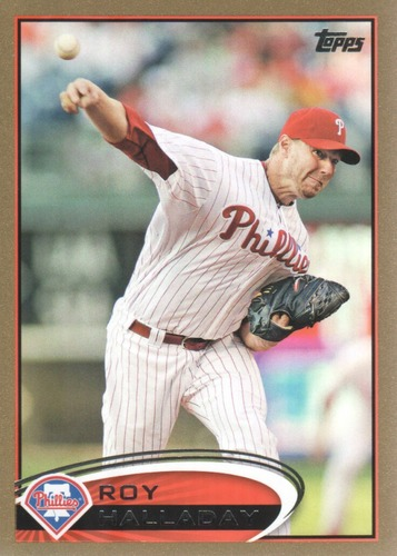 Photo of 2012 Topps Gold #150 Roy Halladay