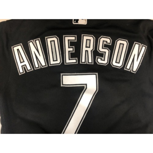 Photo of Tim Anderson Team-Issued 2019 Spring Training Jersey (not authenticated)