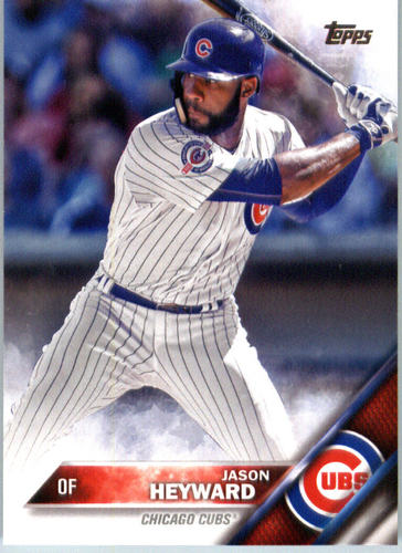 Photo of 2016 Topps #371 Jason Heyward