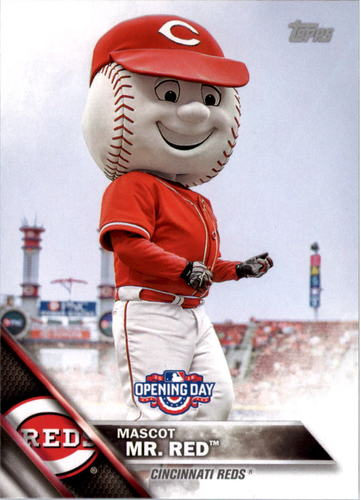 Photo of 2016 Topps Opening Day Mascots #M5 Mr. Red