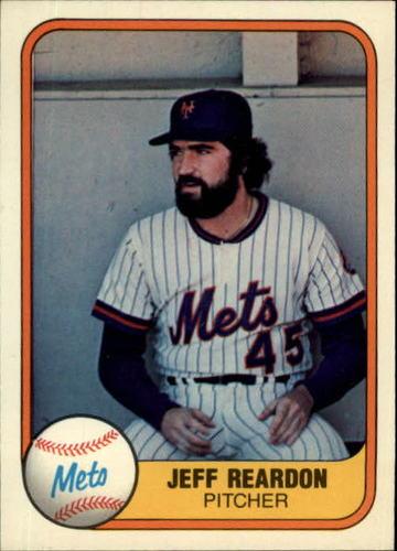 Photo of 1981 Fleer #335 Jeff Reardon RC