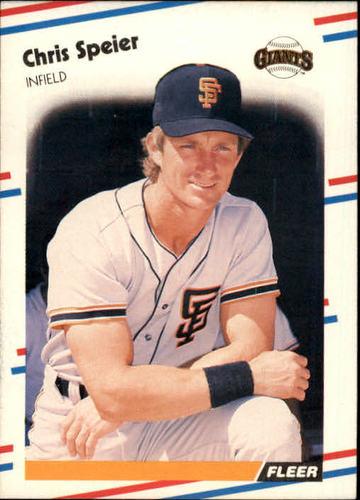 Photo of 1988 Fleer #96 Chris Speier