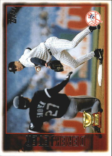 Photo of 2010 Topps Cards Your Mom Threw Out #CMT162 Derek Jeter