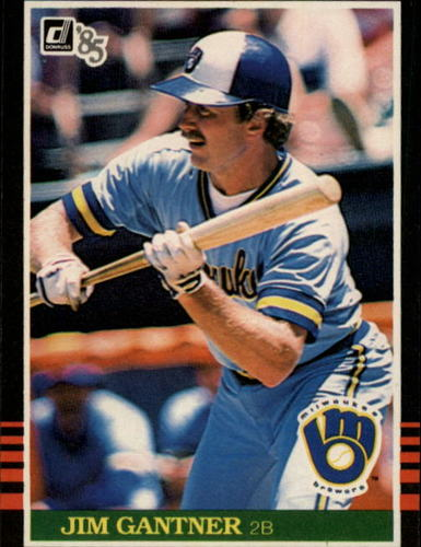 Photo of 1985 Donruss #229 Jim Gantner